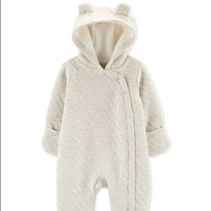 Carter's Quilted Heather Hooded Bunting 6 Month